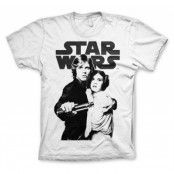 Star Wars Vintage Poster T-Shirt, Basic Tee