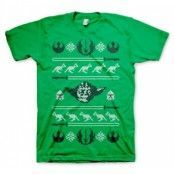 Star Wars Yodas X-Mas Knit T-Shirt, Basic Tee