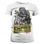 The Empire Strikes Back Girly T-Shirt, Girly T-Shirt