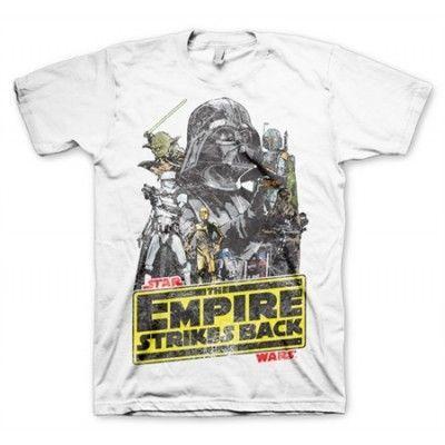 The Empires Strikes Back T-Shirt, Basic Tee