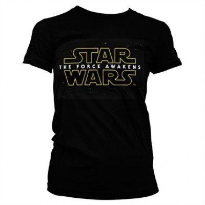 The Force Awakens Logo Girly Tee, Girly T-Shirt