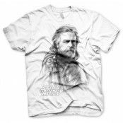 The Last Jedi - Luke Skywalker T-Shirt, Basic Tee