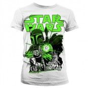 Vintage Boba Fett Girly T-Shirt, Girly T-Shirt