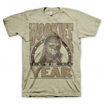 Wookiee Of The Year T-Shirt, Basic Tee