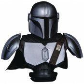 Star Wars The Mandalorian - The Mandalorian Beskar Armor Legends in 3D Bust - 1/2