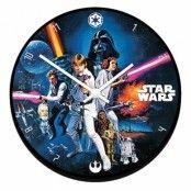 Star Wars Väggklocka
