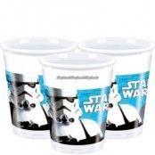 Stjärnornas krig / Star Wars plastmuggar 180ml - 8 st