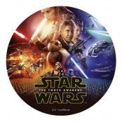 Tårtbild Star Wars The Force Awakens