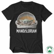 The Mandalorian Baby Yoda Crib Organic T-Shirt, 100% Organic T-Shirt