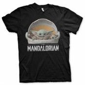 The Mandalorian Baby Yoda Crib T-Shirt, Basic Tee
