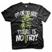 There Is No Try - Yoda T-Shirt, Basic Tee