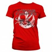 X-Wing Fighter Girly Tee, Girly Tee