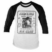 Hawkins A.V. Club Baseball Long Sleeve Tee, Long Sleeve T-Shirt