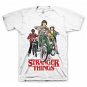 Stranger Things Bikes T-Shirt, T-Shirt