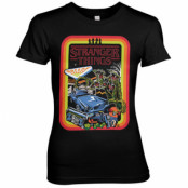 Stranger Things Retro Poster Girly Tee, T-Shirt