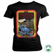 Stranger Things Retro Poster Organic Girly Tee, T-Shirt