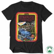 Stranger Things Retro Poster Organic T-Shirt, T-Shirt