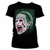 Suicide Squad Joker Girly Tee, Girly Tee