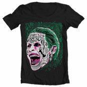 Suicide Squad Joker Wide Neck Tee, Wide Neck Tee