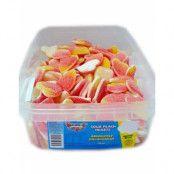 120 stk Sour Peach Hearts / Sura Godishjärtan - Halal Certifierat