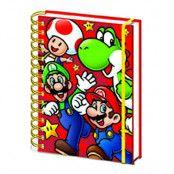 Anteckningsblock Super Mario