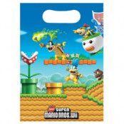 Super Mario Kalaspåsar i plast - 8 st