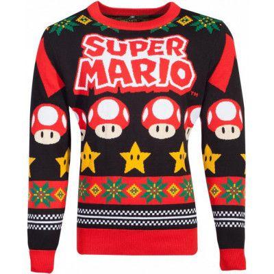 Licensierad Nintendo Super Mario Jultröja
