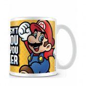 Licensierad Super Mario Keramik Kopp
