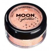 Moon Creations Pastel Glitter Shaker - Peach