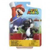Nintendo 4 Articulated Figures Black Yoshi