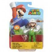Nintendo 4 Articulated Figures Fire Luigi