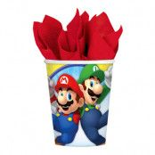 Pappersmuggar Super Mario - 8-pack