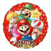 Sjungande Folieballong Super Mario