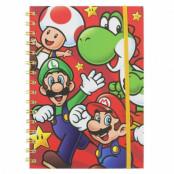 Super Mario - Anteckningsblock