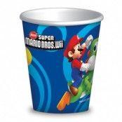 Super Mario brödrar pappersmuggar 266 ml - 8 st