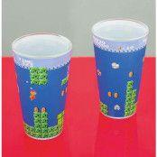 Super Mario Bros Glas