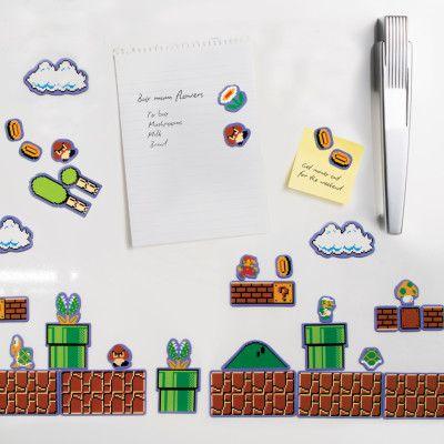 Super Mario Bros Kylskåpsmagneter
