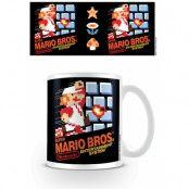 Super Mario Bros Mugg NES Cover