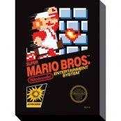 Super Mario Bros NES Canvas 30x40cm