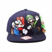 Super Mario Bros Snapback Cap, Adjustable Snapback Cap