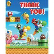 Super Mario Brothers - tackkort 6 st