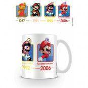 Super Mario - Dates Mug