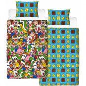 Super Mario - Duvet Set Reversible Gang - 135 x 200 cm