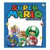 Super Mario Knappar