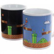 Super Mario - Level Heat Change Mug