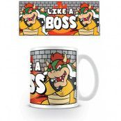 Super Mario - Like A Boss Mug