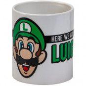 Super Mario - Luigi Here We Go Mug