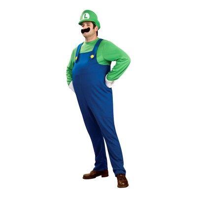 Luigi Deluxe Maskeraddräkt - Small