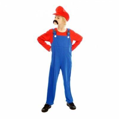 Super Mario Budget Barn Maskeraddräkt - Small