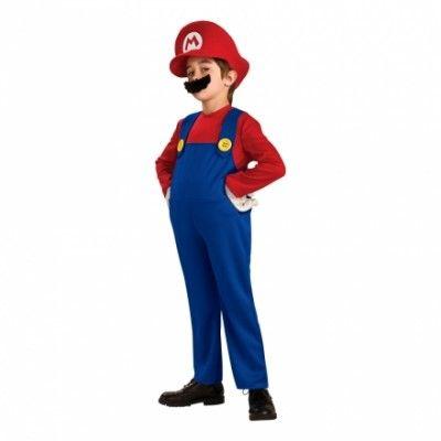 Super Mario Deluxe Barn Maskeraddräkt